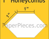 Honeycombs - One inch - 100 pc pack