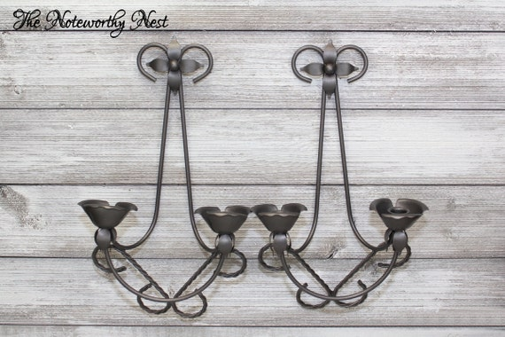 Wall Sconces On Clearance : CLEARANCE Beautiful Candle Sconce // Gallery Wall // Dark
