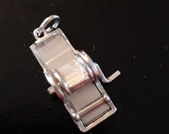 Sterling Mimeograph / Copier Charm