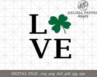 Love with Clover SVG,St Patricks Day Shirt Design,St Patty's Day svg,no pinch shirt,kid st patrick shirt design,four leaf clover,lucky svg