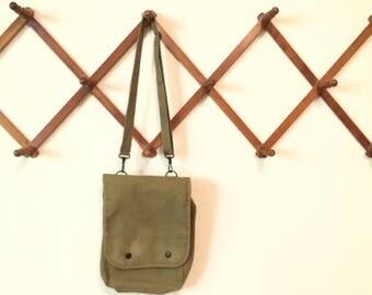 Vintage Army Messenger Bag with adjustable strap