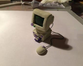 Vintage 90's Computer Miniature