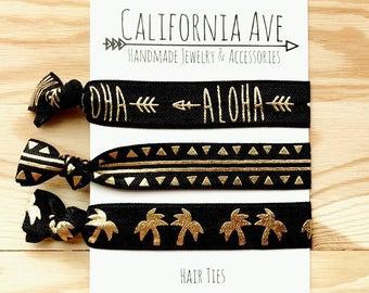Aloha Hair Tie Set of 3