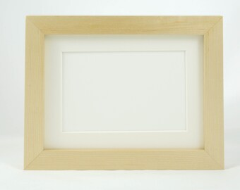 Conservation Photo Frame Solid Hardwood, hand-made with natural wax finish