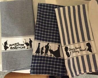 Frozen Decorative Towels, Disney Towels, Set of 3 towels