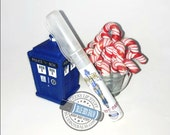 Holiday Limited Edition Sonic Spritz - Candy Cane - Doctor Who Inspired Body Spritz- Candy Cane Scent