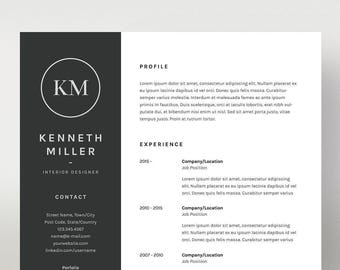 illustrator resume etsy