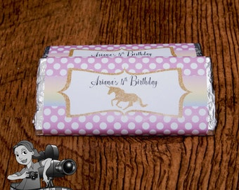 Unicorn Chocolate Wrapper