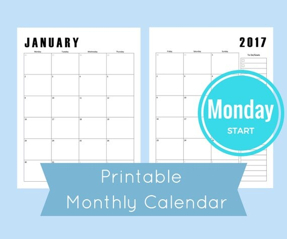 Month on two pages monthly calendar printable monthly for Two page monthly calendar template