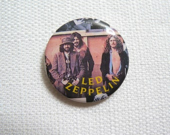Vintage 80s Led Zeppelin - Pin / Button / Badge