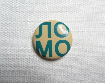 Vintage Early 90s LOMO Camera - Photography Pin / Button / Badge