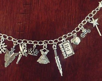 Personalized Disney Charm Bracelet
