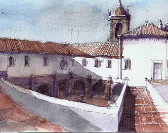 Graça Convent from rooftop