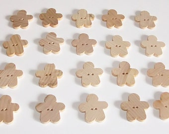 Gingerbread Men Buttons