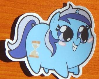 Pony Chubs! Colgate/Minuette Sticker
