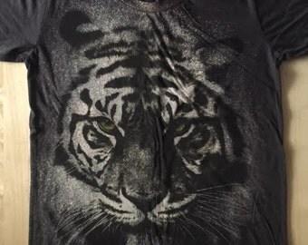 Tiger Fashion Pop Rock T-Shirt S