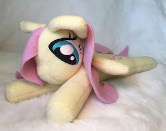 Handmade MLP Fluttershy soft toy plush