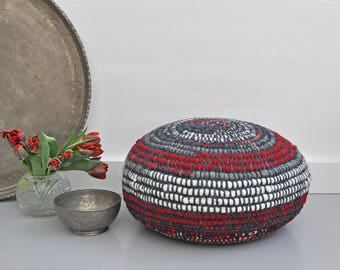 SALE 25% off, now 75 Euro. pouf, floor cushion, floor pillow