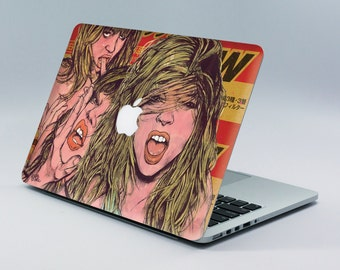 MacBook Skin Laptop Sticker Decal - Made by Artist - Macbook sticker Macbook Air Pro Laptop Apple decal