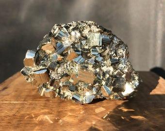 Pyrite crystal 'Fools Gold'