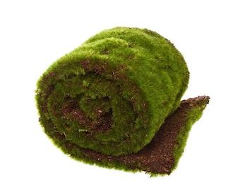 Moss Mat Artificial Grass Roll Fake Grass 15cm wide x 80cm long