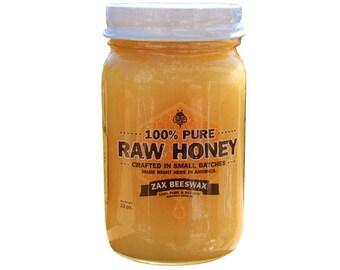 100% Pure & Raw Goldenrod Honey | Summer Harvest