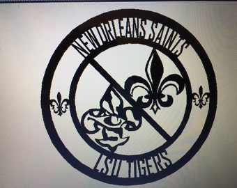 Saints/LSU Tigers Medallion