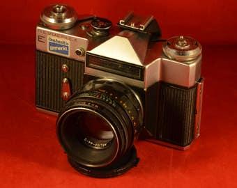 Revueflex E with Helios-44-2 58 mm 2.0