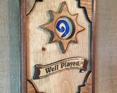 Hearthstone wooden wall a...