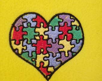 AUTISM HEART PATCH