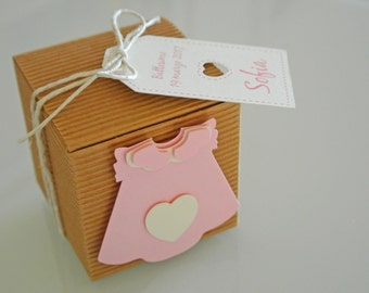 Baptism Favor Box Kit