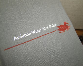 Vintage Book - Audubon Water Bird Guide - Eastern Water Game, and Large Land Birds - 1951 Edition