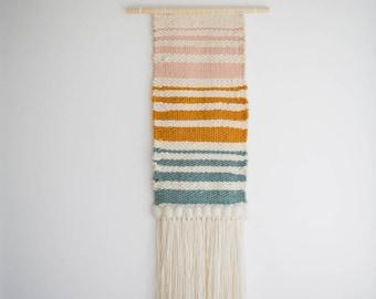 weaving / handwoven tapestry / handwoven wall hanging / wall art / wall decor /handwoven art / tapestry / scandinavian decor