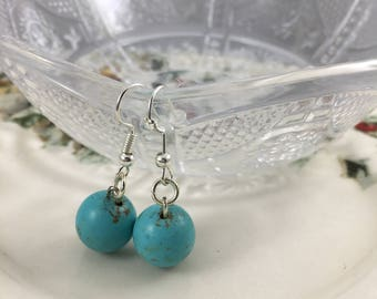 Earrings Crystals , Magnesite  Great for Weddings