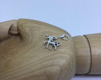 Silver Unicorn Charm, Unicorn Charm, Silver Charm, Fairytale Charm, Unicorn Jewellery, Unicorn Gift, Charm for Bracelet, Unicorn, Charms