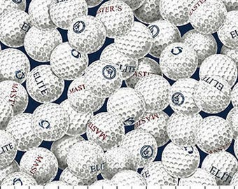 On The Green Golf Balls from Northcott by the yard