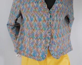 SALE* Vintage rainbow sweater
