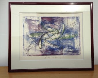 Table water strong original signed ML 2002 + perfect state