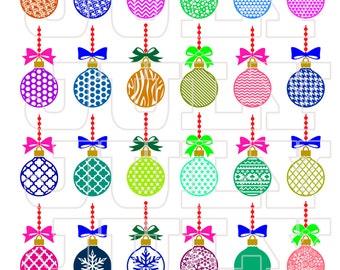 Christmas Balls SVG, Xmas svg, Christmas svg, Christmas Balls Clip Art, Christmas SVG Cut files, Christmas Ornaments SVG