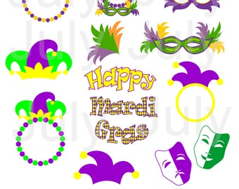 Mardi Gras Svg, Mardi Gras Clip Art, Mardi Gras Cutting Files, Mardi Gras SVG Monogram Frame , svg, dxf, eps, png, Joker hat svg