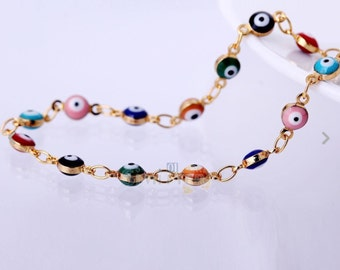 Gold plated bracelets