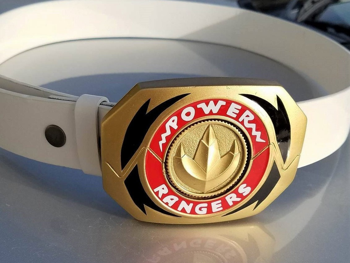 Mighty Morphin Power Rangers Prop Morpher Buckle Finished And