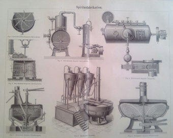 "Lithography, ""Alcohol production""."