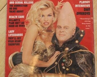 Vintage 1993 Pamela Anderson & Dan Aykroyd Playboy