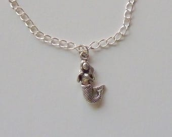Mermaid ankle bracelet, mermaid anklet, ankle bracelet, beach jewelry, mermaid jewelry, summer anklet, summer jewelry, anklet, mermaid