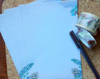 Naturally Winter Writing Paper- Stationery