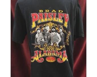 Original Brad Paisley & Alabama Tshirt
