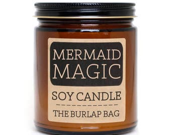 Mermaid Magic 9oz Soy Candle