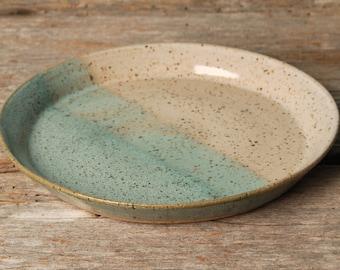 Beautiful Handmade Pottery Salad Plate