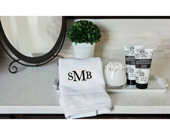 Personalized Luxury Hand Towels - SMB Design